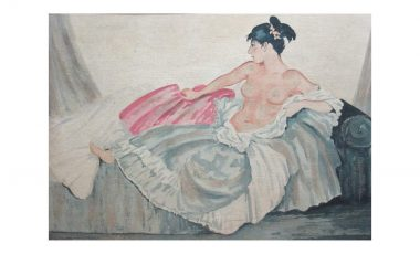 Sir William Russell Flint watercolour leads art section of March auction
