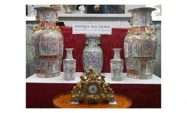 Oriental items and fine clocks at 12th July auction