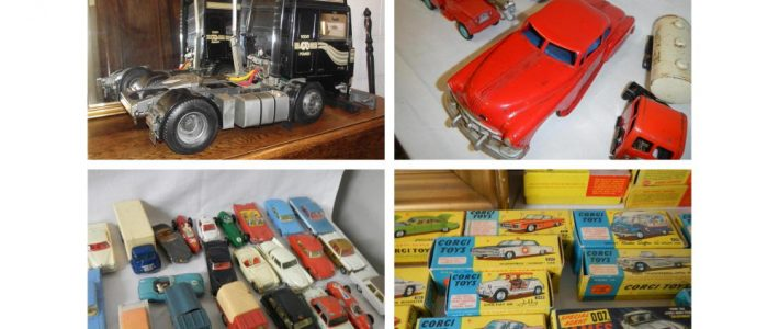 1950s and 1960s Tinplate, Corgi, Spot-on and other Die-cast at July 12th auction