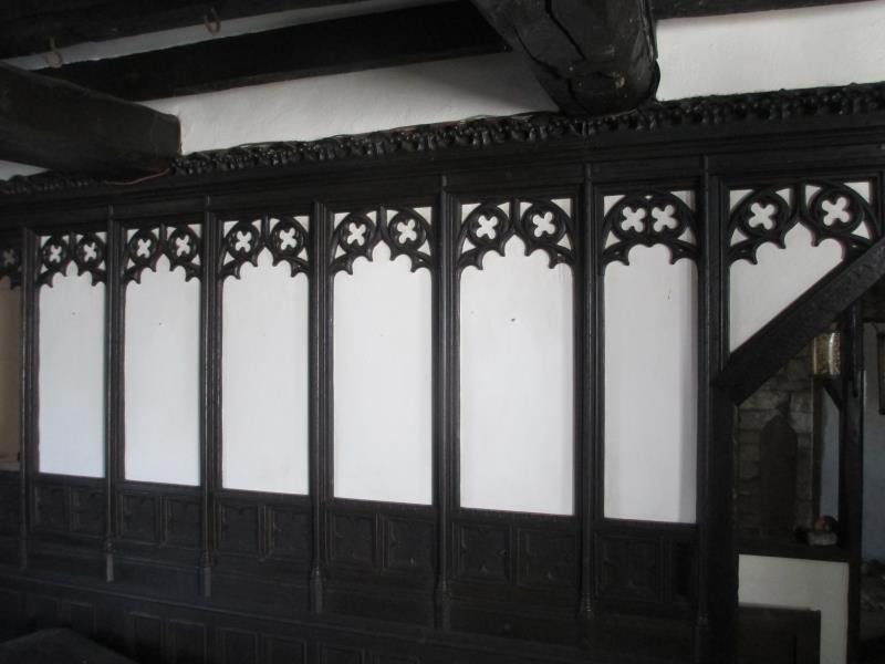 Ornate Antique Panelling from old Lincolnshire Cottage