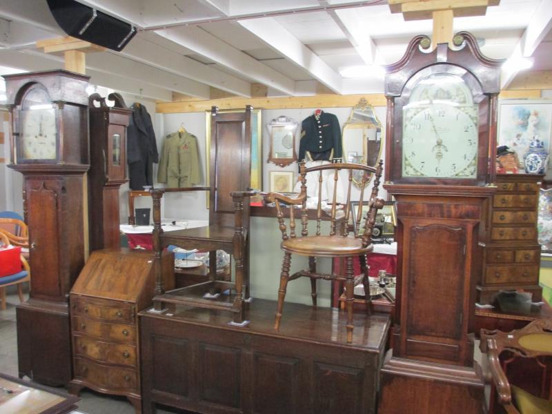 Antique Furniture and Grandfather Clocks