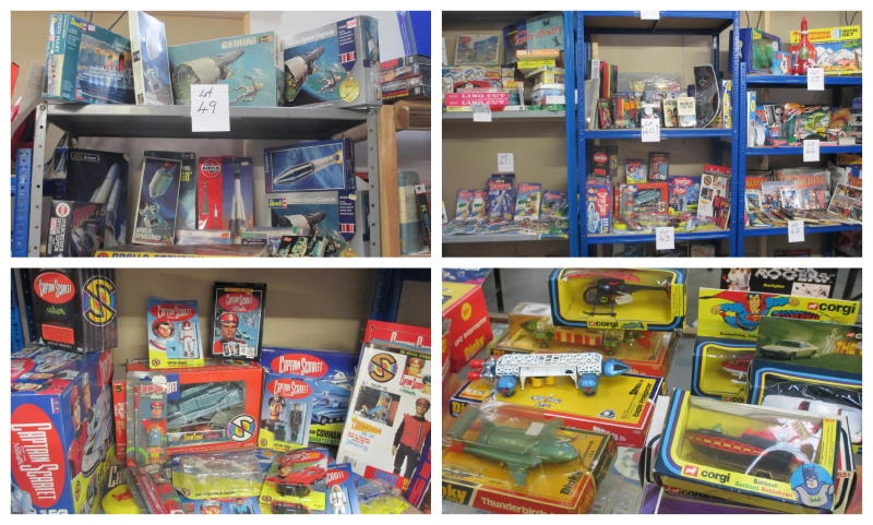 toys and collectables collage