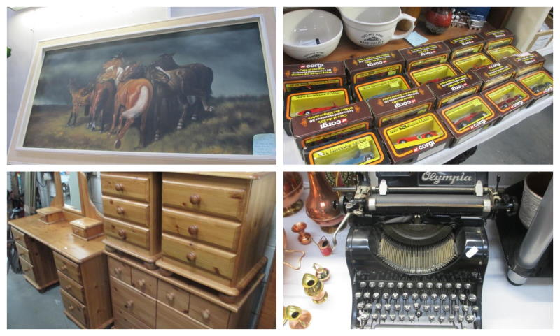 28th nov 2020 collage of items at auction