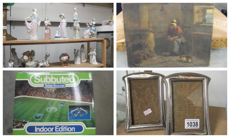 29th nov 2020 collage items at auction