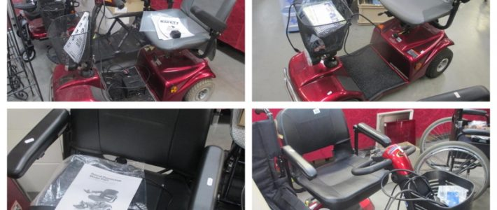 Mobility scooters in November auction including new Rascal
