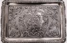 Fine Silver Tray from dressing table set