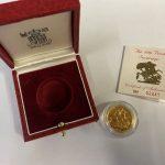 1986 gold sovereign