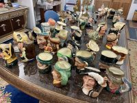 Royal Doulton character jug collection