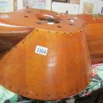 Rolls Royce Kestrel IIS twin bladed wooden aircraft propeller