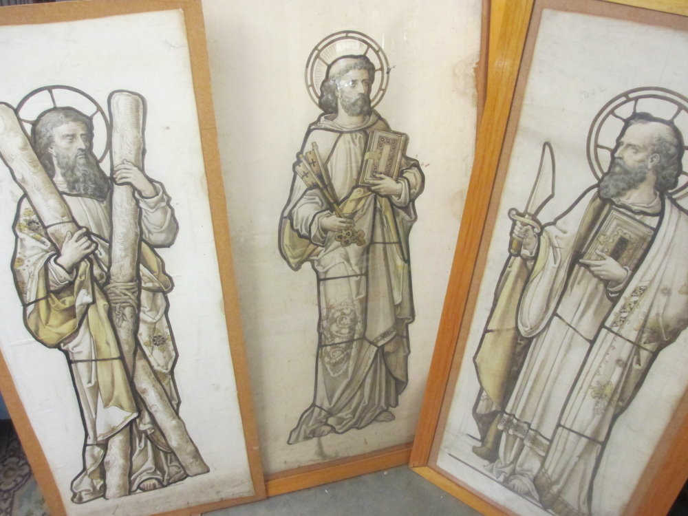 17th 18th century paintings of saints