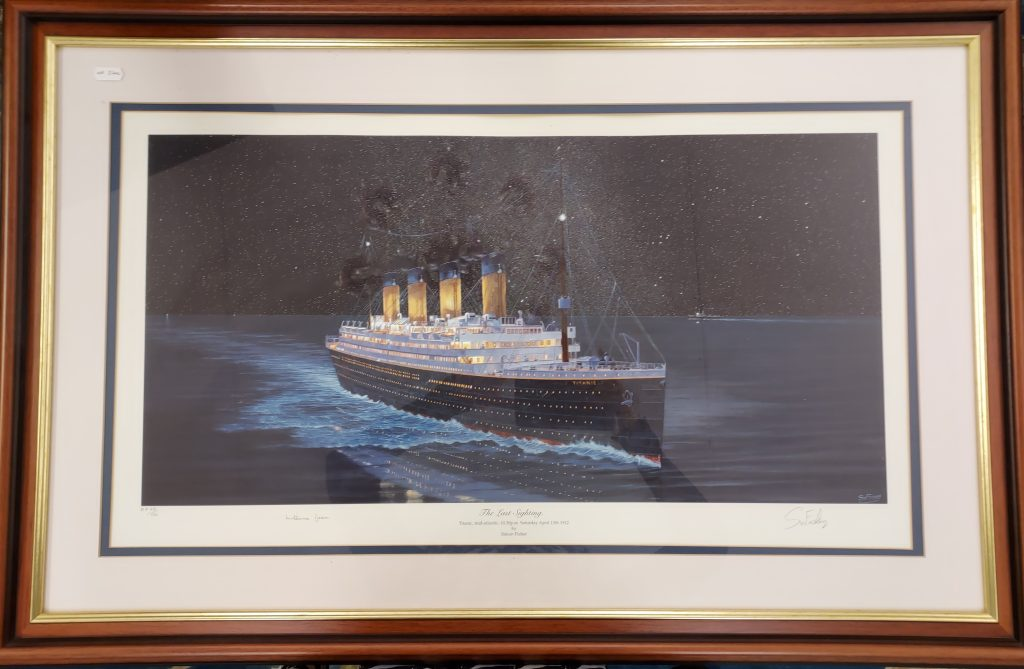 Titanic – Limited Signed Print