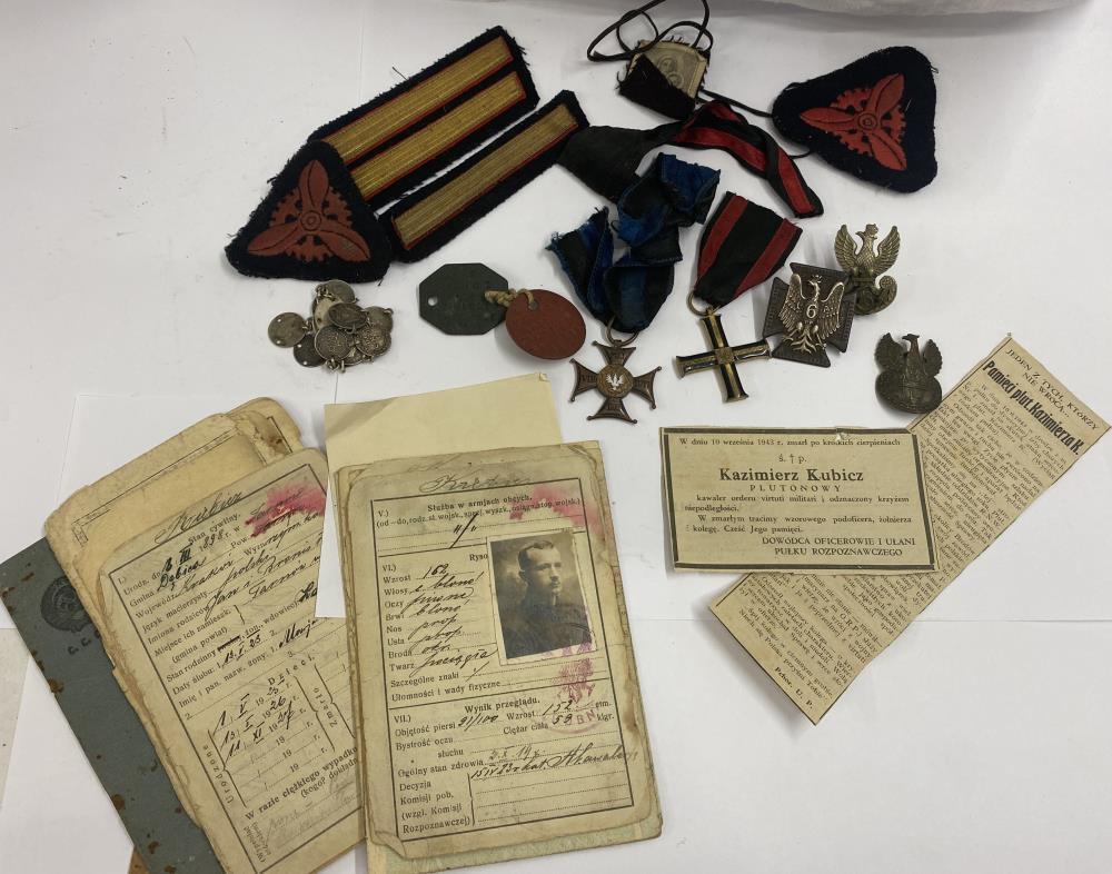 A Polish War Order of Virtuti Militari for Kamierz Kubicz