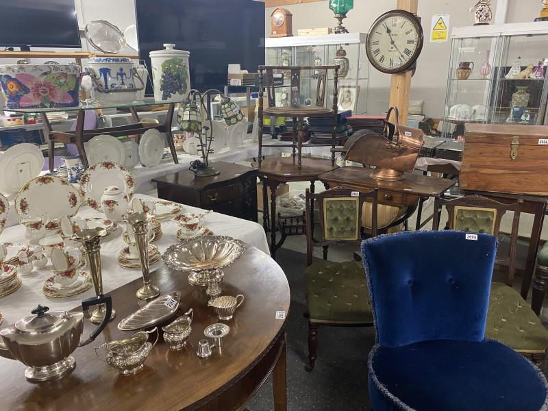 photo of antique sale