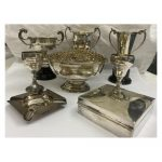 1930s Lincolnshire Motor Cycling Great Austin Munks Trophies at Unique Auctions